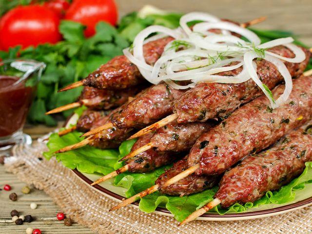 Рецепт люля кебаб из говядины в духовке
