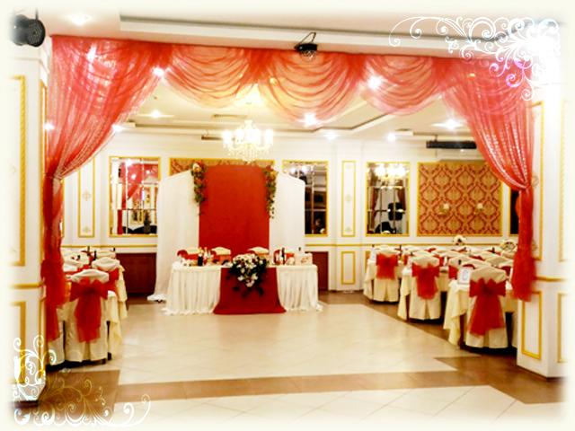 Свадьба в кафе Вираж